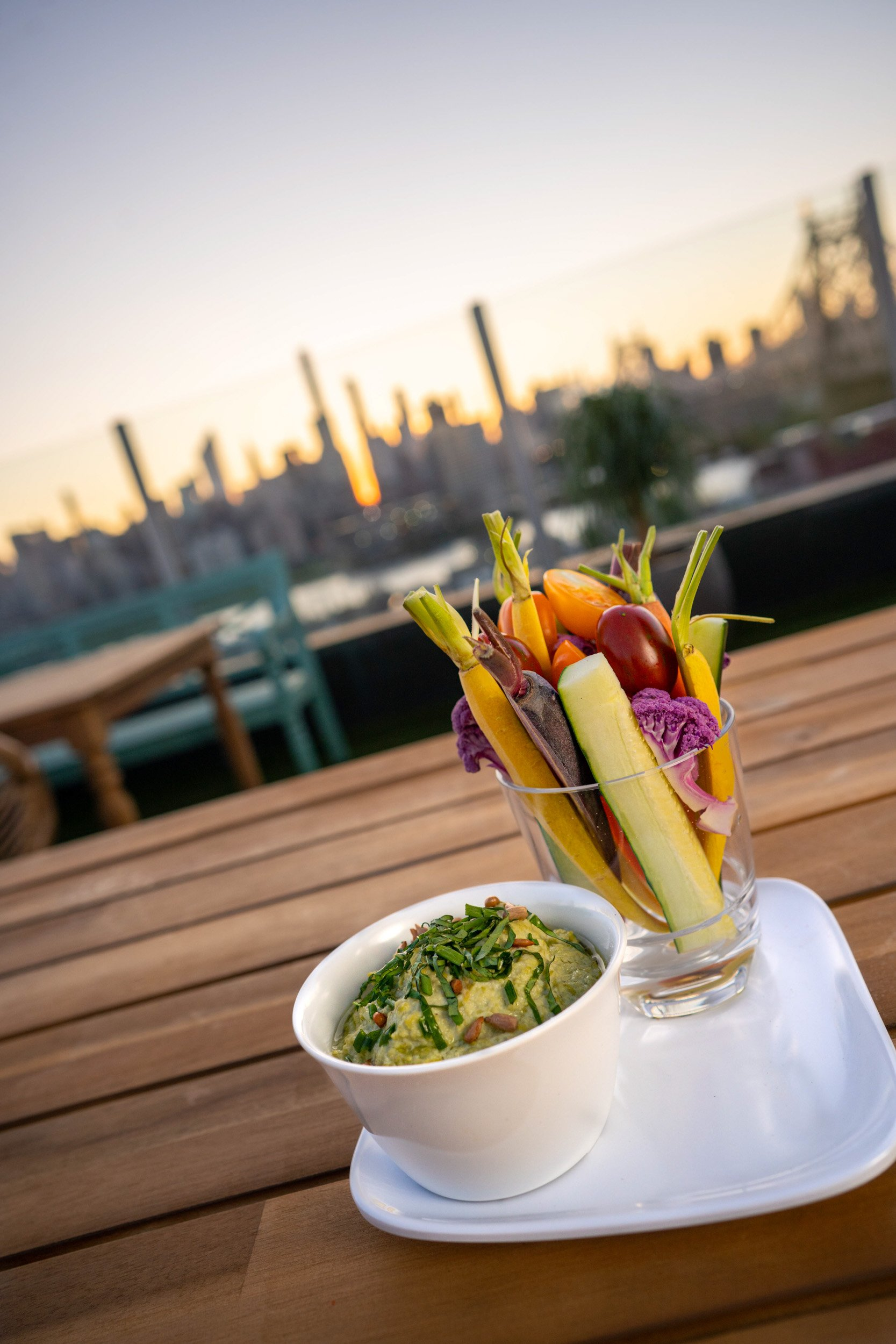 Savanna Rooftop NYC - Food